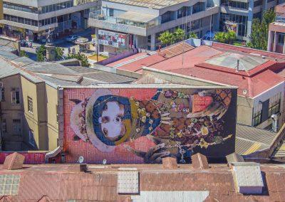 Mural visto desde Cerro Concepción.