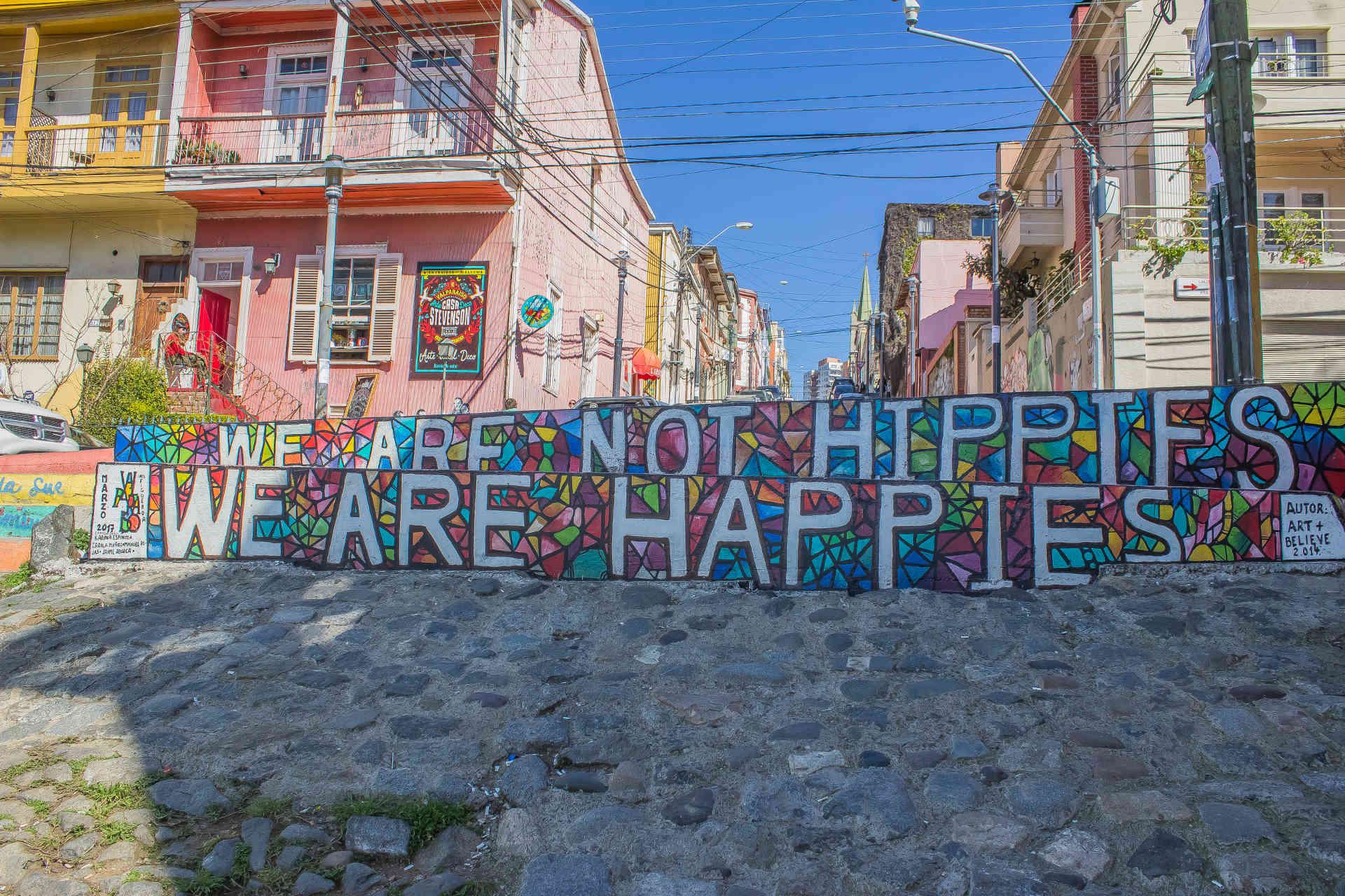 Mozaico Hippies, Calle Templeman