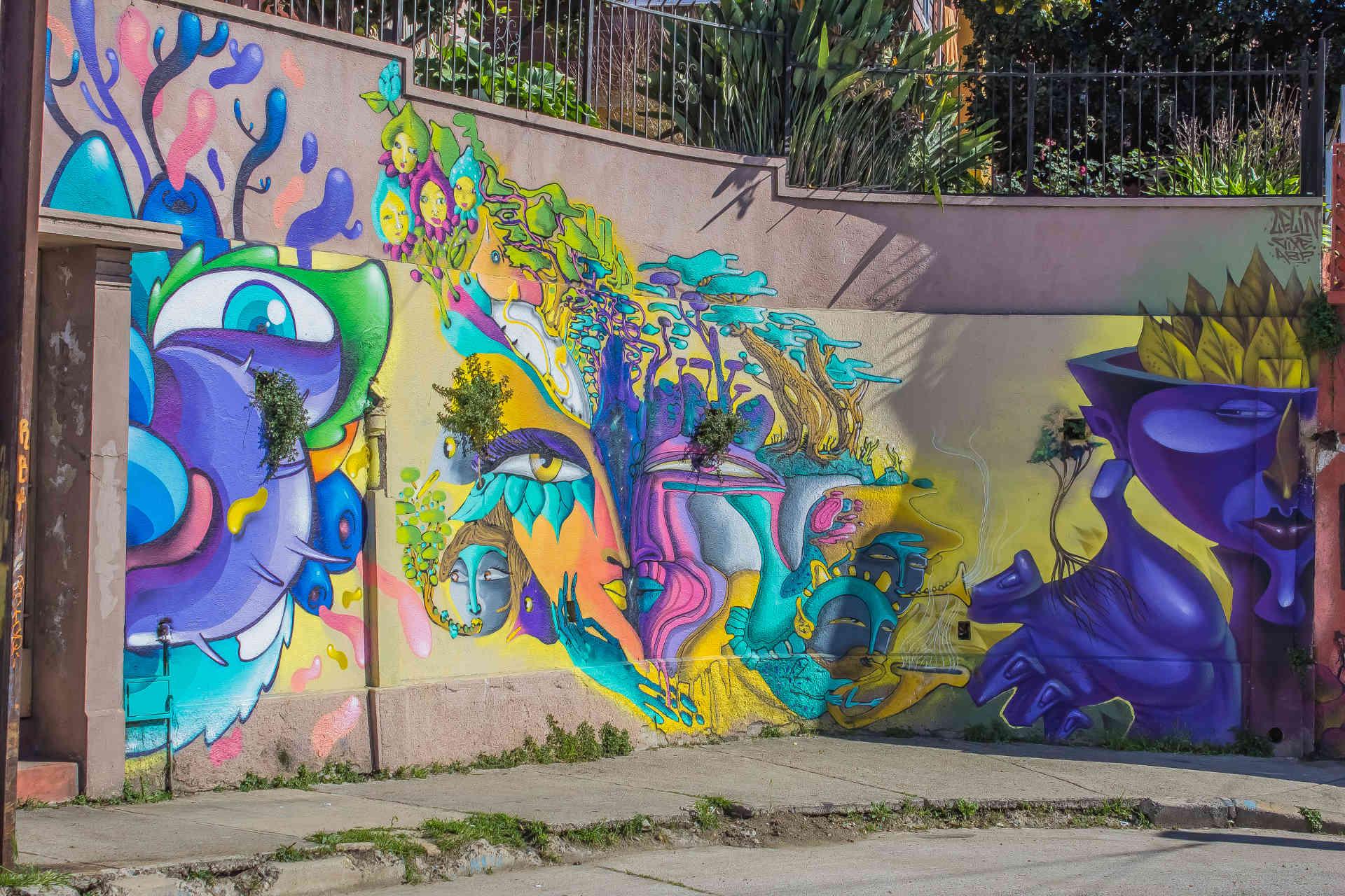 Murales Iglesia Plazuela San Luis