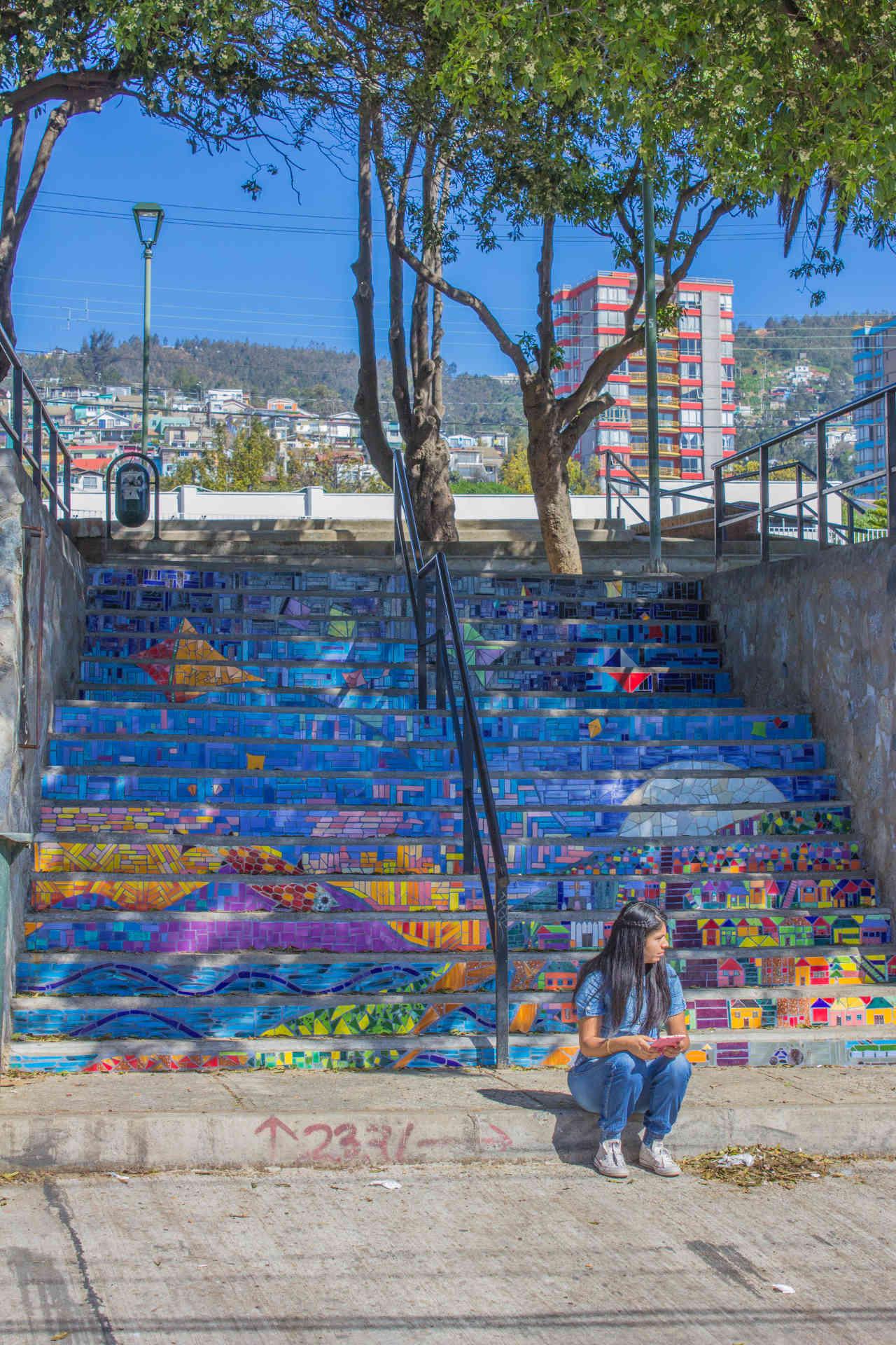 Escalera Plaza Mena
