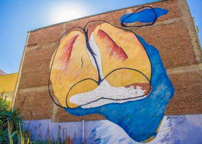 Mural Marraqueta Gigante